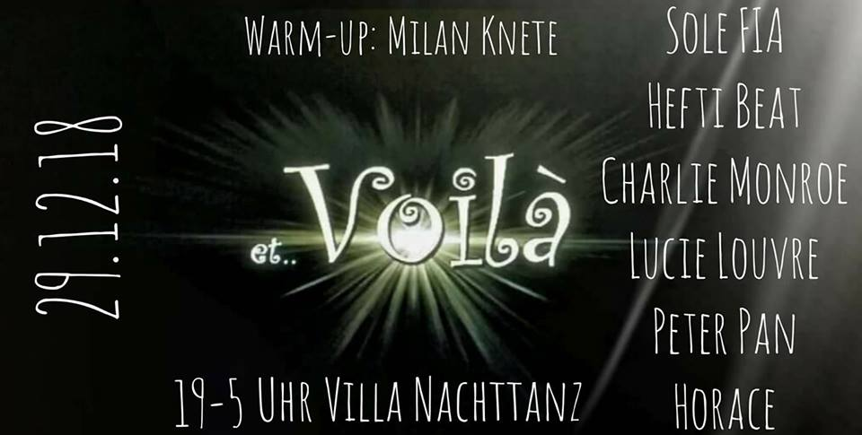 Et Voila Revue LineUp